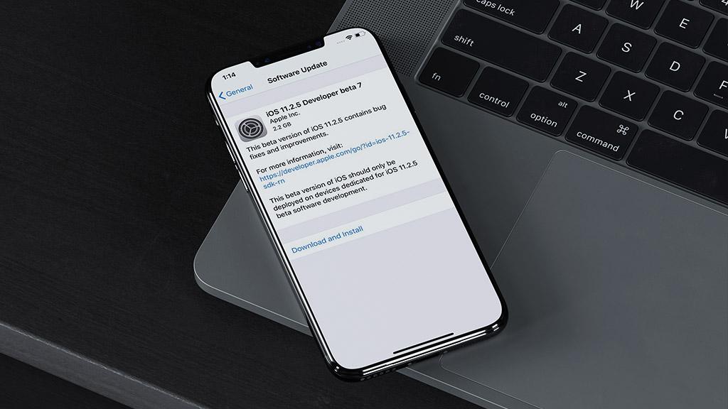 Apple tiếp tục phát hành iOS 11.2.5 beta 7, có thể đây là bản thử nghiệm cuối cùng?