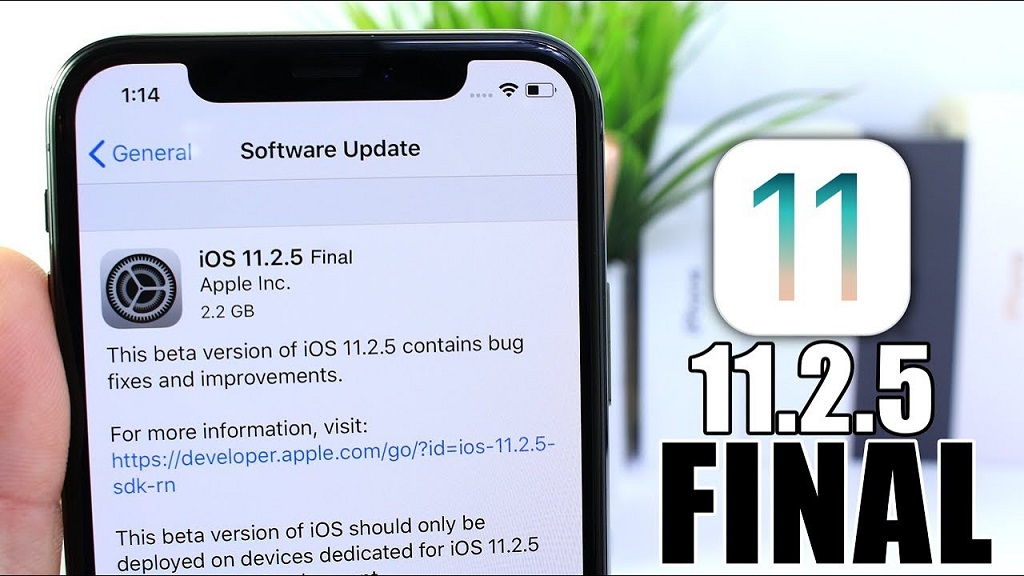 ios 11.2 5 trên iphone 6