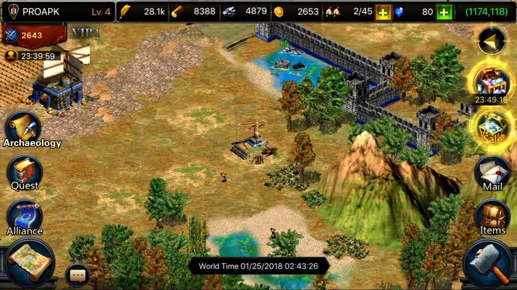 Empires War - Age of Kingdoms: Tìm lại tuổi thơ với trò chơi Đế Chế phiên bản di động