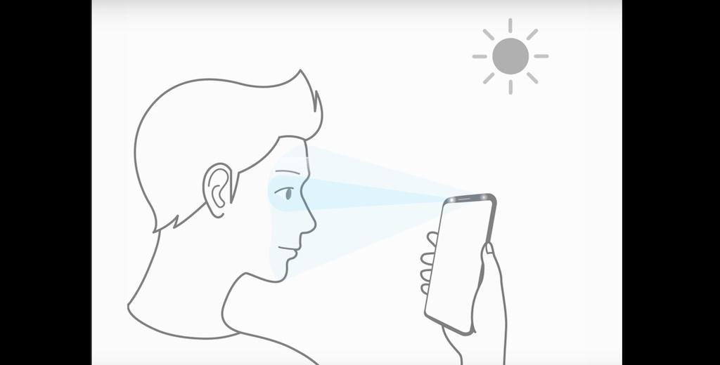 Galaxy S9 sẽ được trang bị tính năng Intelligent Scan, kết hợp cả mống mắt và nhận diện khuôn mặt để mở khoá thiết bị