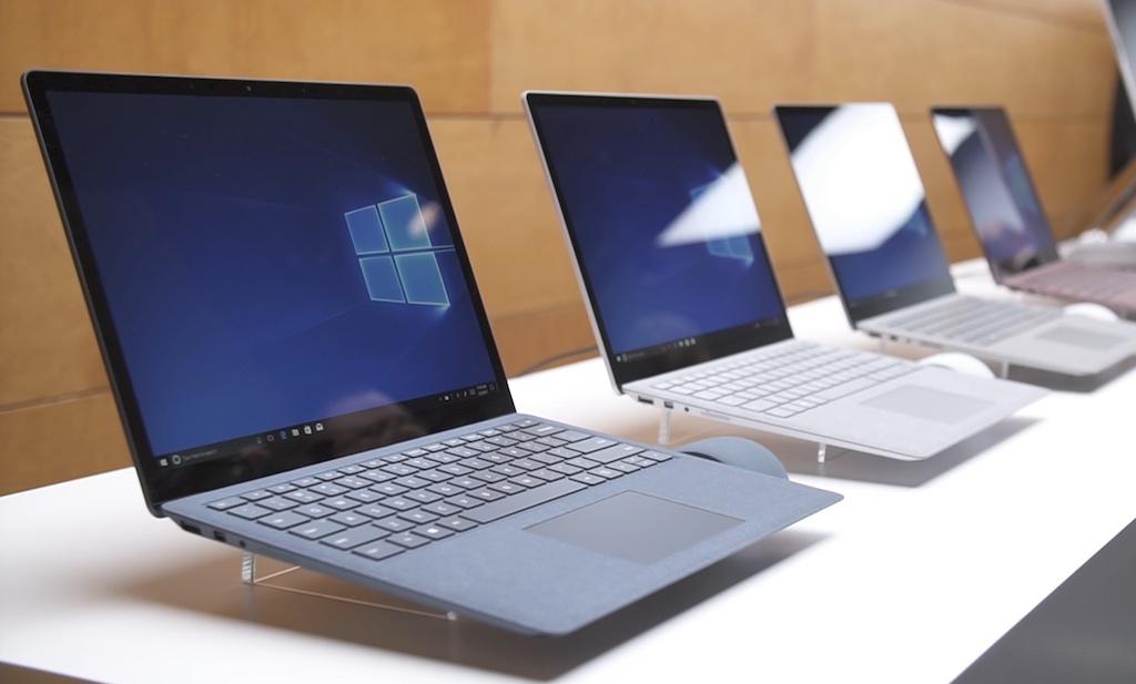 Microsoft ra mắt phiên bản giá rẻ của Surface Laptop, với chip Intel Core m3, ram 4GB, SSD 128GB, giá 799 USD