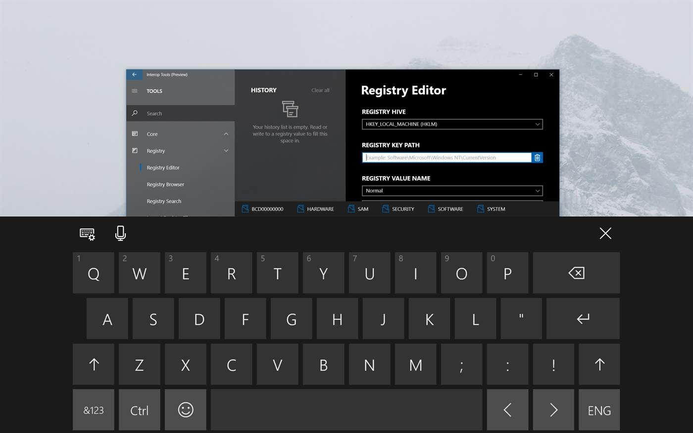 Interop Tools: Công cụ chỉnh sửa Registry cho Windows 10 và Windows 10 Mobile được cập nhật lên phiên bản 2.1.27.0, bổ sung các tính năng đáng chú ý mới
