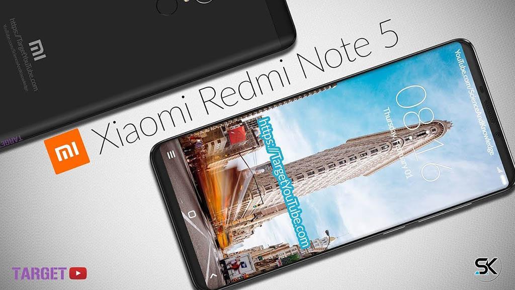 Rò rỉ hình ảnh Xiaomi Redmi Note 5 với màn hình 18:9, camera kép và viên pin dung lượng lớn