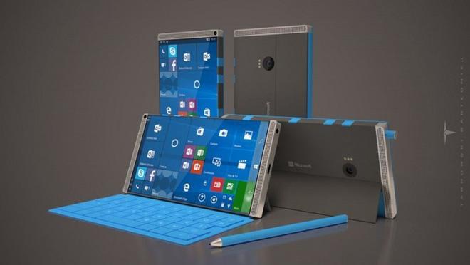 Dù chạy Windows Polaris, Microsoft Surface Phone cũng không thể huỷ diệt được iPhone