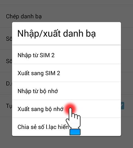 Hướng dẫn copy danh  bạ từ Android sang iPhone đơn giản bằng cách sau