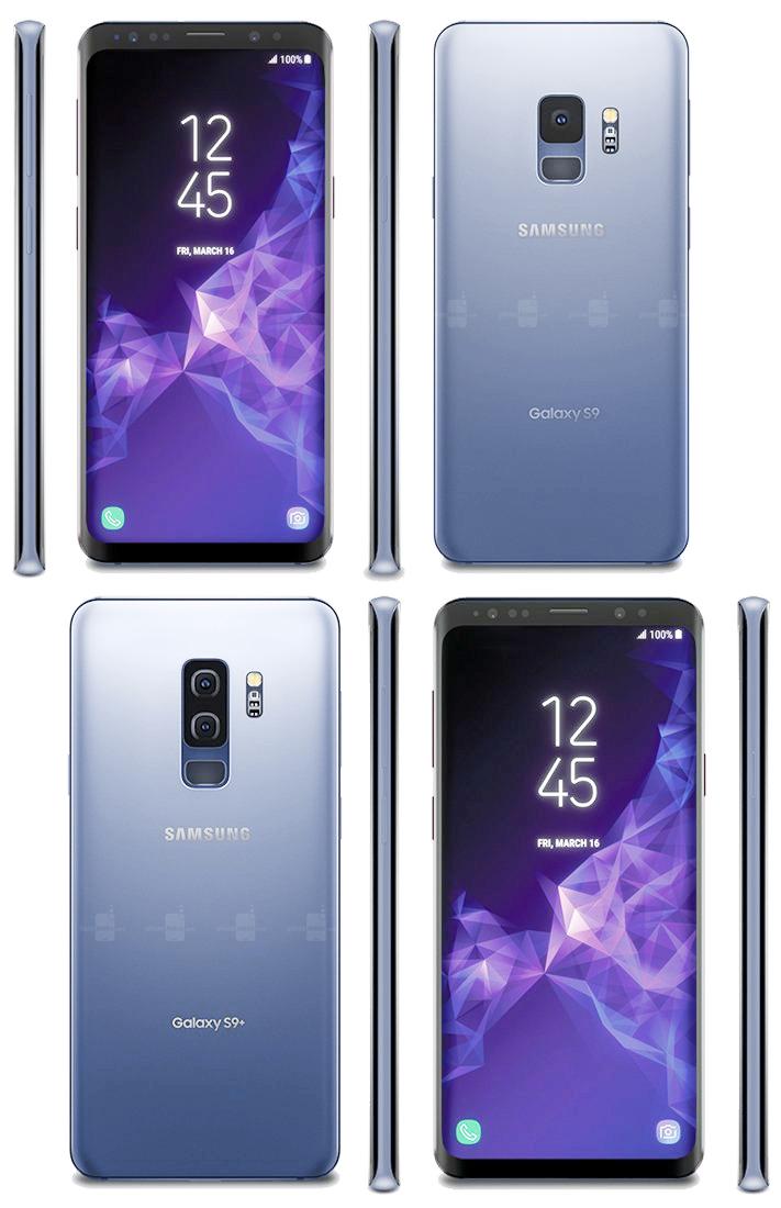 Cùng chiêm ngưỡng 4 màu sắc chính thức của bộ đôi Samsung Galaxy S9 và S9 Plus