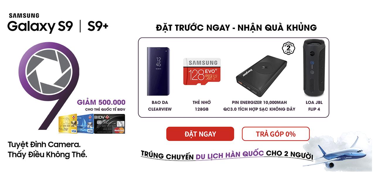 Galaxy S9 cho đặt hàng tại Việt Nam, giá dự kiến 19 triệu đồng, có hàng vào ngày 8/3?