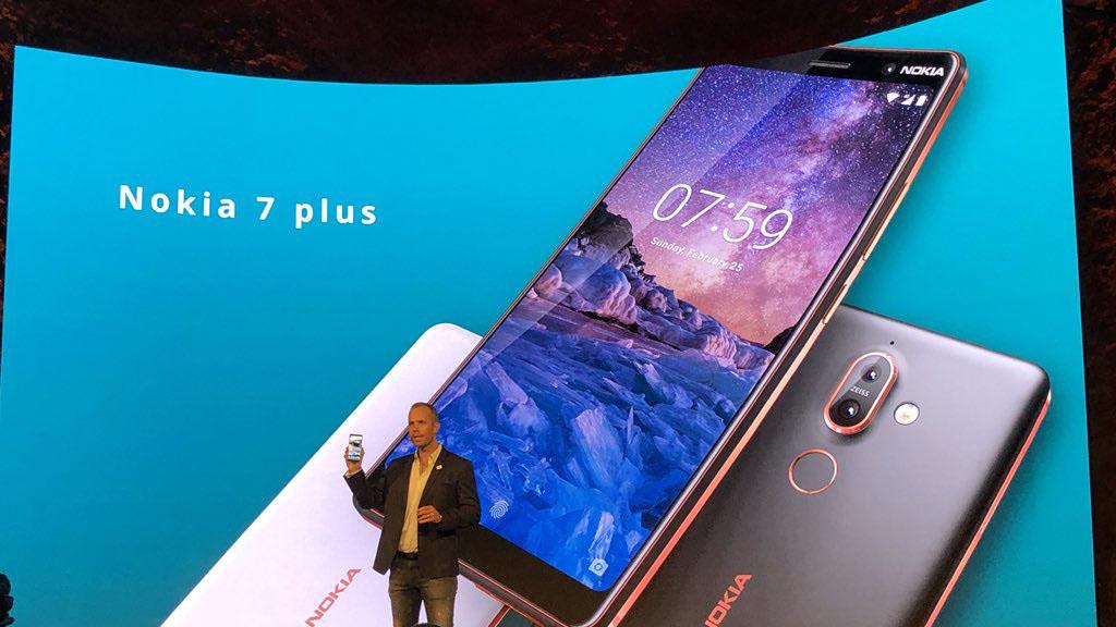 [MWC 2018] Nokia 7 Plus chính thức ra mắt với màn hình 6 inch tỉ lệ 18:9, camera kép sử dụng ống kính Zeiss