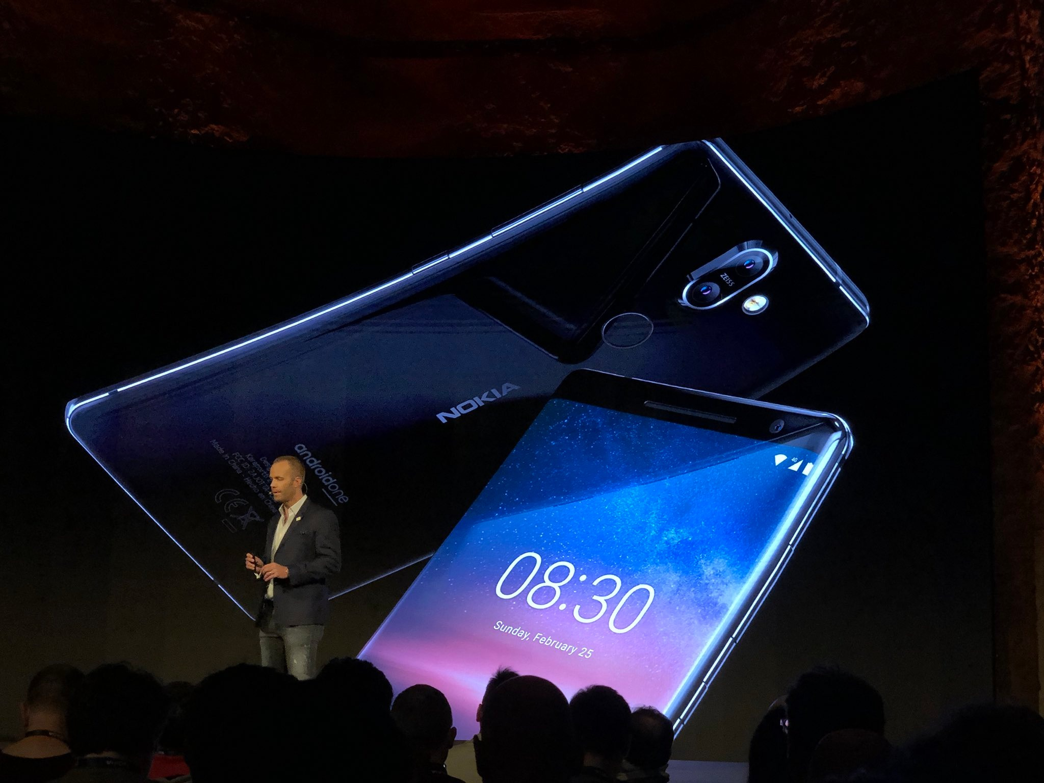 MWC, MWC 2018, Điện     thoại, HMD Global, Nokia, Nokia 8, Nokia 8 Sirocco, Cấu hình     Nokia 8 Sirocco,