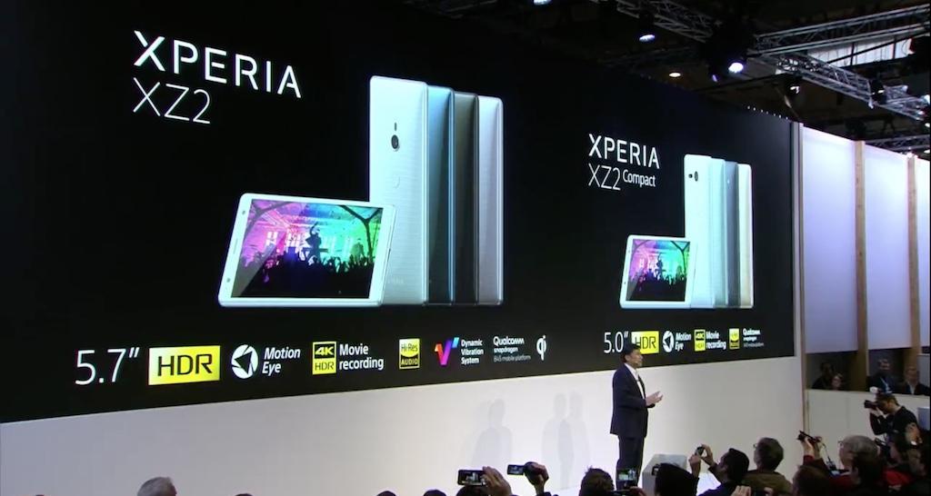 [MWC 2018] Sony ra mắt Xperia XZ2 và XZ2 Compact với ngôn ngữ thiết kế mới, màn hình 18:9, Snapdragon 845