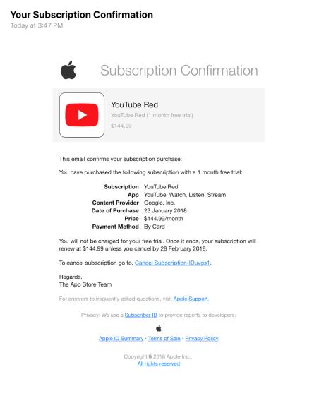 Apple lên tiếng cảnh báo người dùng về tình trạng email lừa đảo xuất hiện tràn lan trên App Store