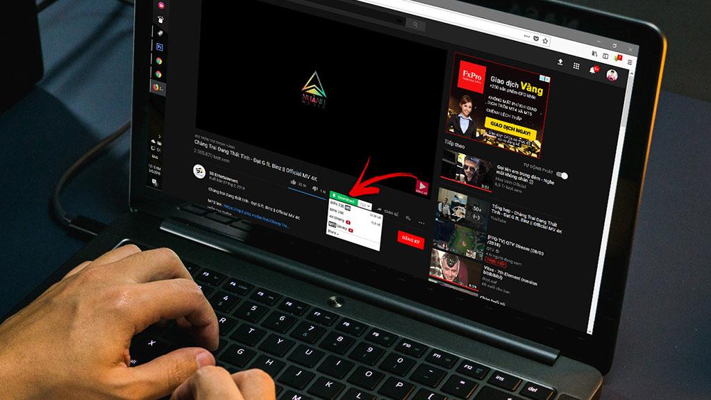tenovi net - Hướng dẫn thêm nút download trên YouTube, Facebook