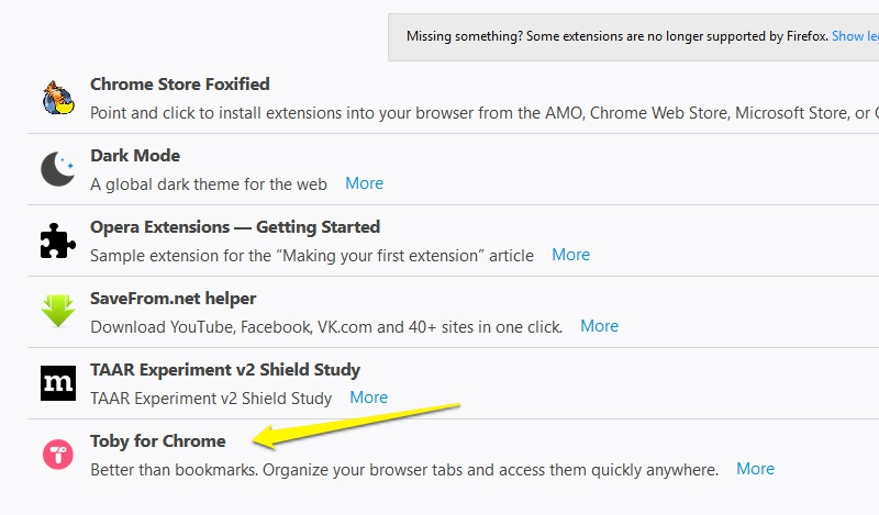Hướng dẫn cài tiện ích của Chrome lên Opera, Firefox và ngược lại