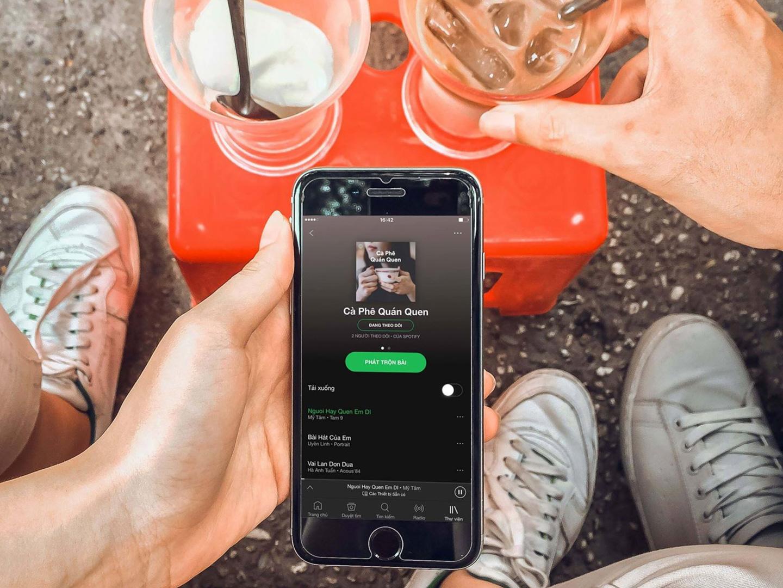 Dịch vụ nghe nhạc trực tuyến lớn nhất thế giới Spotify chính thức ra mắt thị trường  Việt Nam