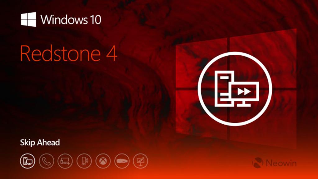 Chia sẻ file ISO Windows 10 Redstone 4 Build 17123, anh em tải về trải nghiệm nhé!