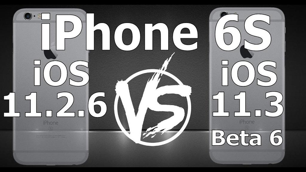 So sánh tốc độ iOS 11.3 Beta 6 và iOS 11.2.6 chính thức: Sẽ nâng cấp hay chờ bản chính thức