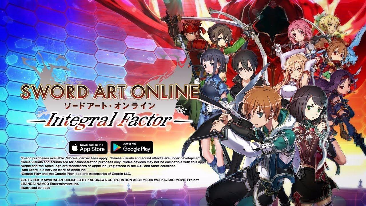 Sword Art Online: Integral Factor đã chính thức có phiên bản tiếng Anh trên cả Android và iOS