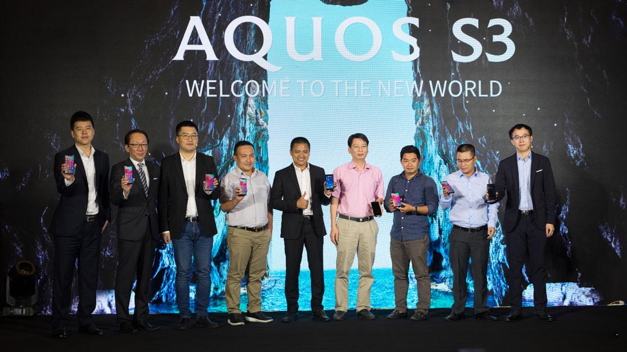 Sharp AQUOS S3 chính thức ra mắt tại Việt Nam: Thiết tai thỏ, chip Snapdragon 630, giá 8.990.000 VNĐ