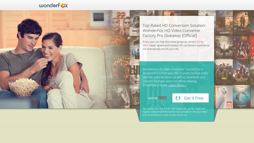 Nhanh tay nhận miễn phí bản quyền HD Video Converter Factory Pro 10 trị giá 49,95 USD