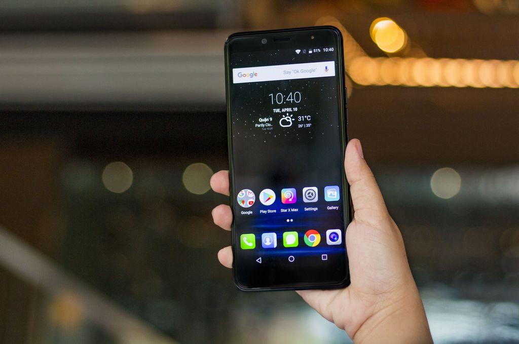 Mobiistar ra mắt E Selfie với màn hình 6 inch 18:9, camera selfie 13MP, giá chỉ 3 triệu