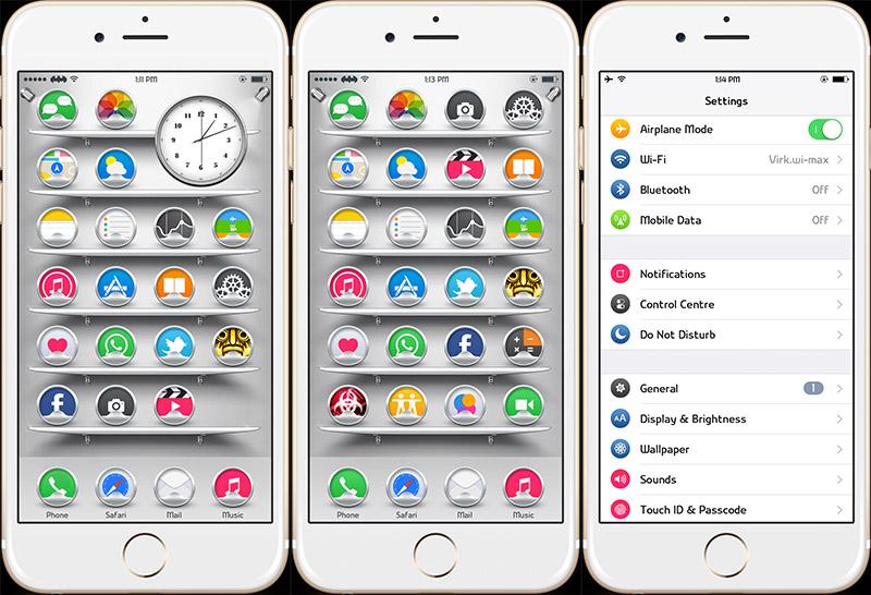 Tổng hợp 30+ theme đẹp dành cho Anemone và thiết bị iOS đã jailbreak (Phần Cuối)