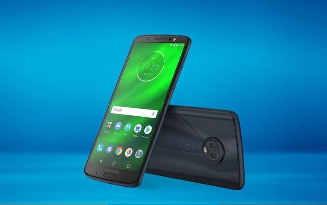 Motorola G6 Plus, G6 và G6 Play trình làng với mức giá cực kỳ hợp lý
