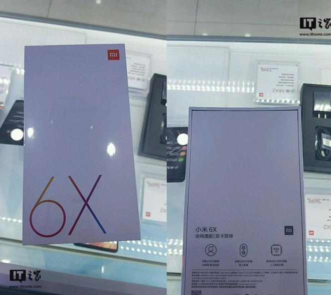 Xuất hiện vỏ hộp thương mại Mi 6X cận ngày ra mắt, xác nhận camera 20MP, chip Snapdragon 660