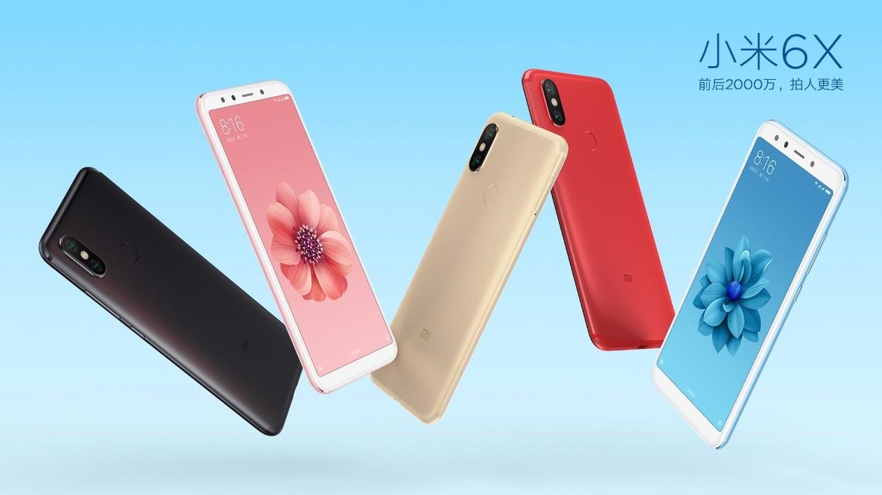 Xiaomi chính thức ra mắt Xiaomi Mi 6X (Mi A2) với chip Snapdragon 660, màn hình 5,99, giá từ 250 USD