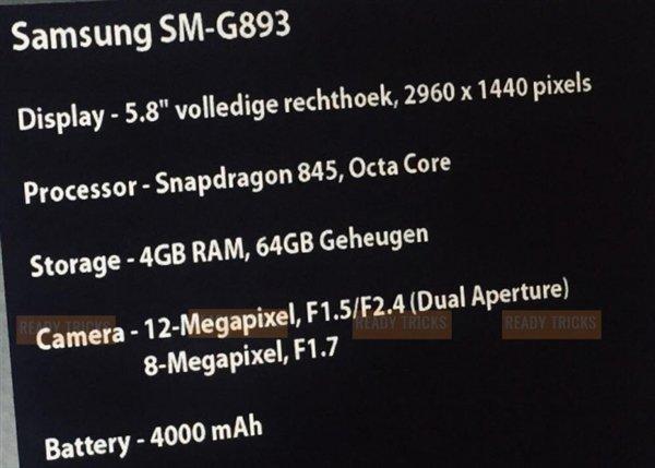 Rò rỉ cấu hình của Galaxy S9 Active: Gần như tương tự với Galaxy S9 nhưng viên pin lớn hơn