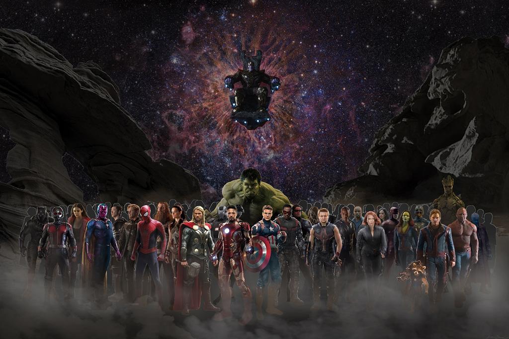 Chia sẻ bộ ảnh nền phim Avengers: Infinity War chất lượng FullHD, mời anh em tải về