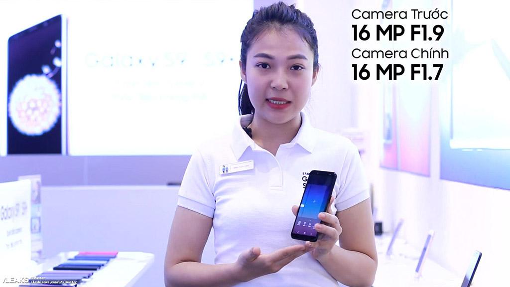 Samsung Galaxy A6 lộ diện hoàn toàn qua video hướng dẫn sử dụng