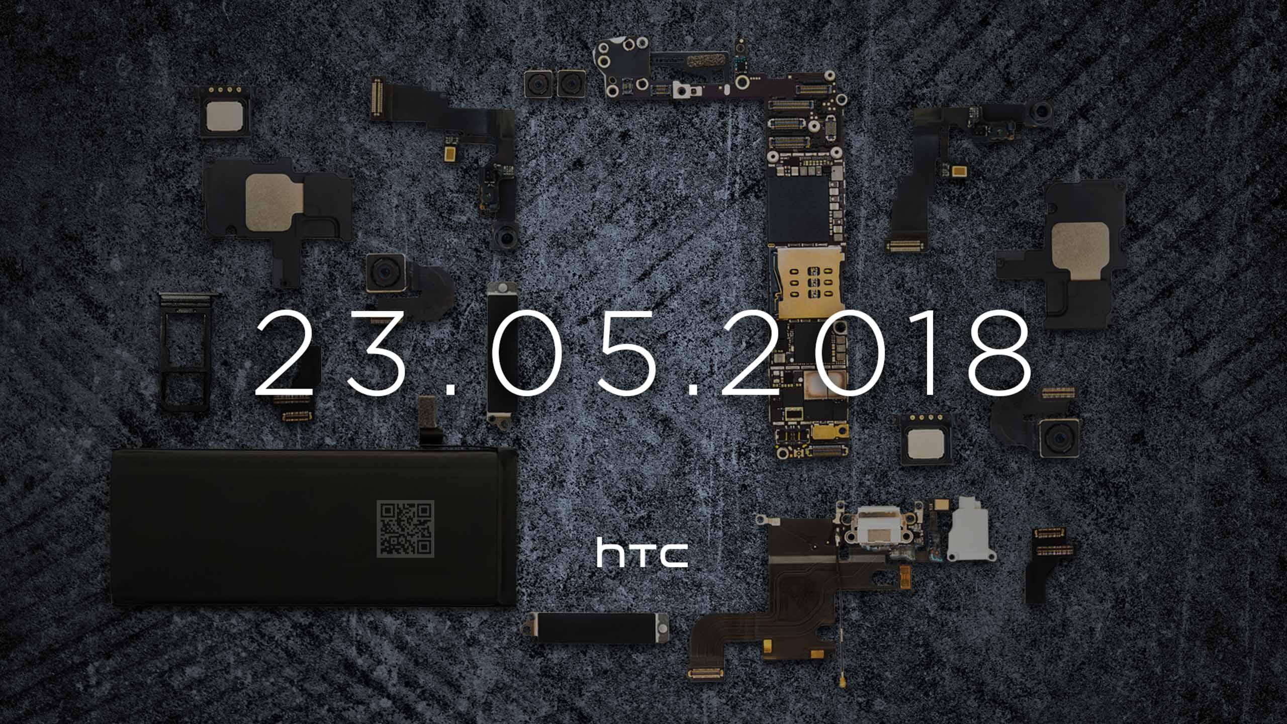 HTC xác nhận 23/5 sẽ ra mắt HTC U12+ và tiết lộ một số linh kiện bên trong