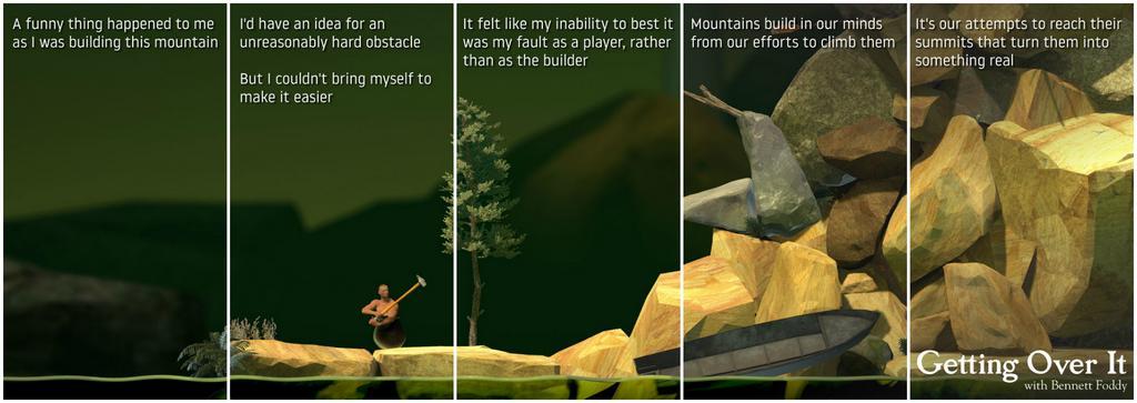 Getting Over It: Tựa game leo núi cực khó và cực kỳ ức đã có phiên bản dành cho Android