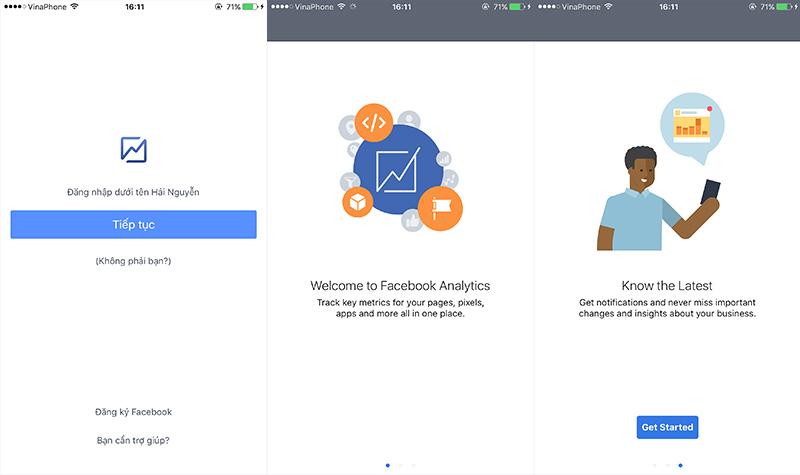 Facebook phát hành ứng dụng Analytics trên cả 2 nền tảng iOS và Android