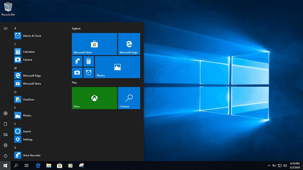 Chia sẻ file ISO Windows 10 Pro Lite Version 1803 phiên bản dành cho máy cấu hình thấp