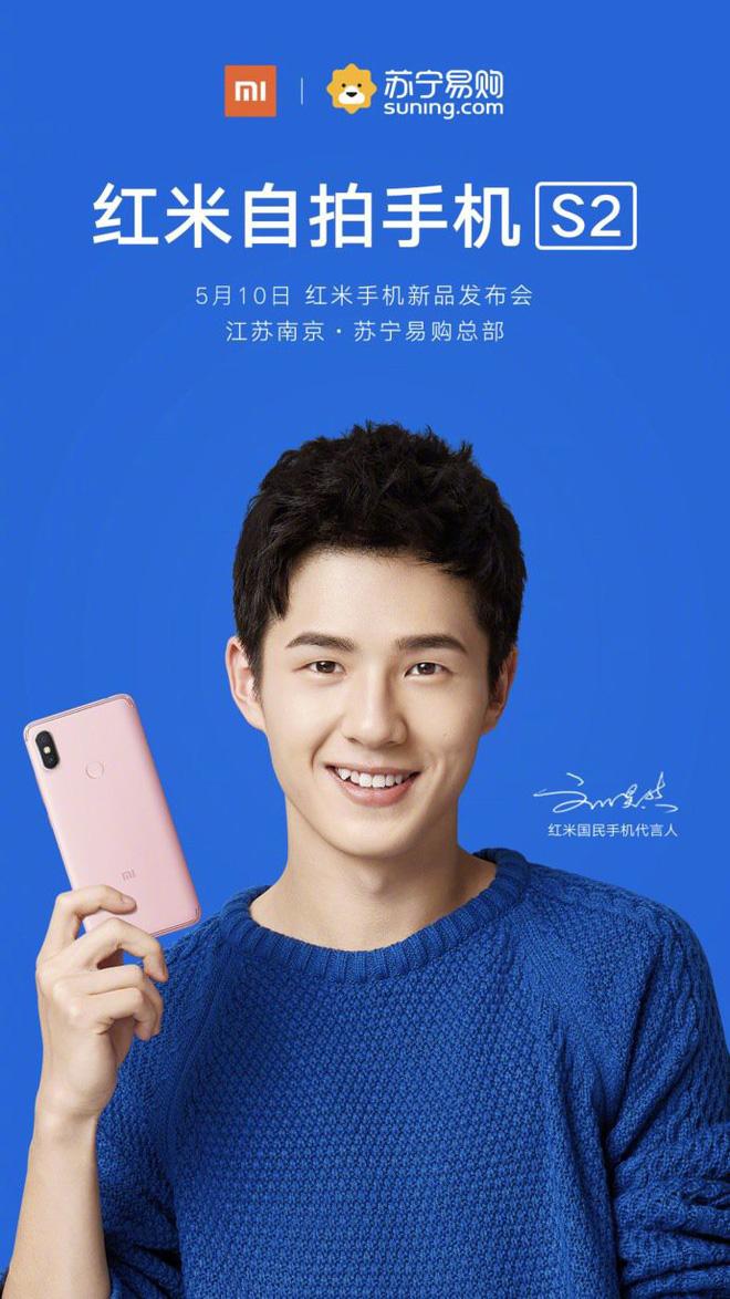 Xiaomi xác nhận Redmi S2 sẽ ra mắt vào ngày 10/5, được bán với giá 3,99 triệu đồng tại Việt Nam