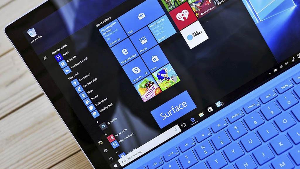 Chia sẻ bộ cài đặt Windows 10 Pro Lite version 1803 Full Soft và tự động cập nhật Driver
