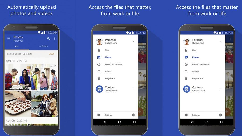 Microsoft OneDrive trên Android đã cho phép chuyển ứng dụng sang thẻ nhớ