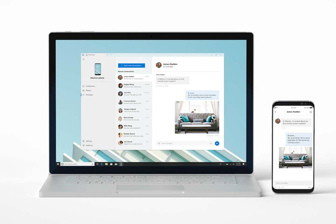 [Microsoft Build 2018] Windows 10 sẽ sớm cho phép bạn truy cập vào smartphone của bạn từ máy tính, hỗ trợ hệ điều hành Android và iOS