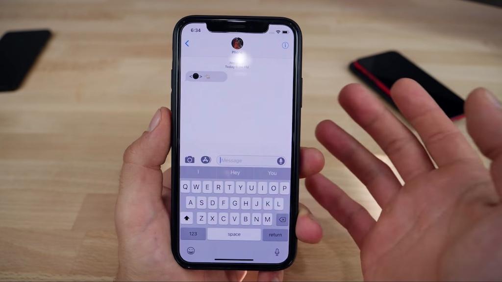 Tin nhắn Black Dot of Death khiến ứng dụng Messages trên iOS đứng hình, restart cũng vô ích