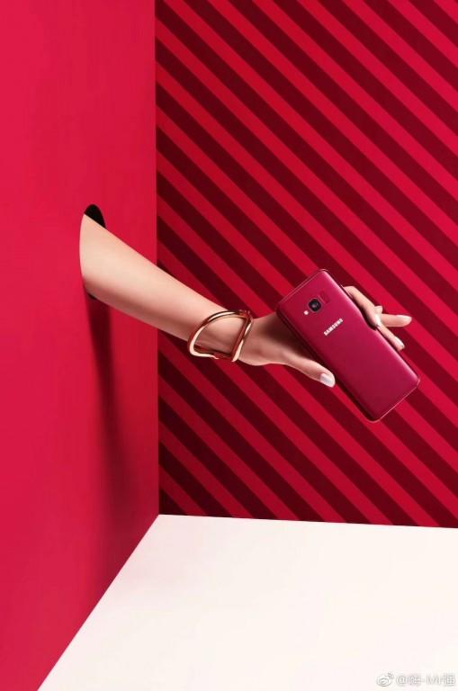 Rò rỉ hình ảnh Galaxy S8 Lite với 2 màu Đen và Đỏ Burgundy