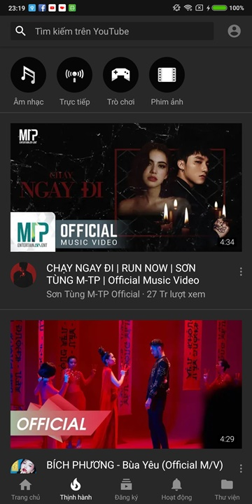 Chia sẻ bộ cài đặt YouTube mod black theme, dark theme, chặn quảng cáo và phát nhạc trong nền