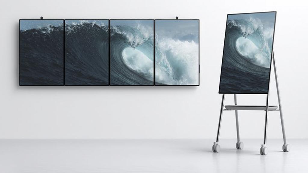 Microsoft ra mắt Surface Hub 2, chiếc tablet khổng lồ dành cho dân văn phòng