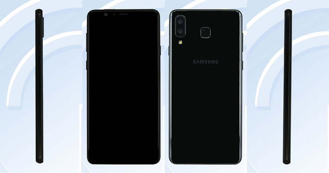 Samsung Galaxy A8 Star với camera kép xếp dọc giống iPhone X được chứng nhận WiFi, sẽ sớm ra mắt
