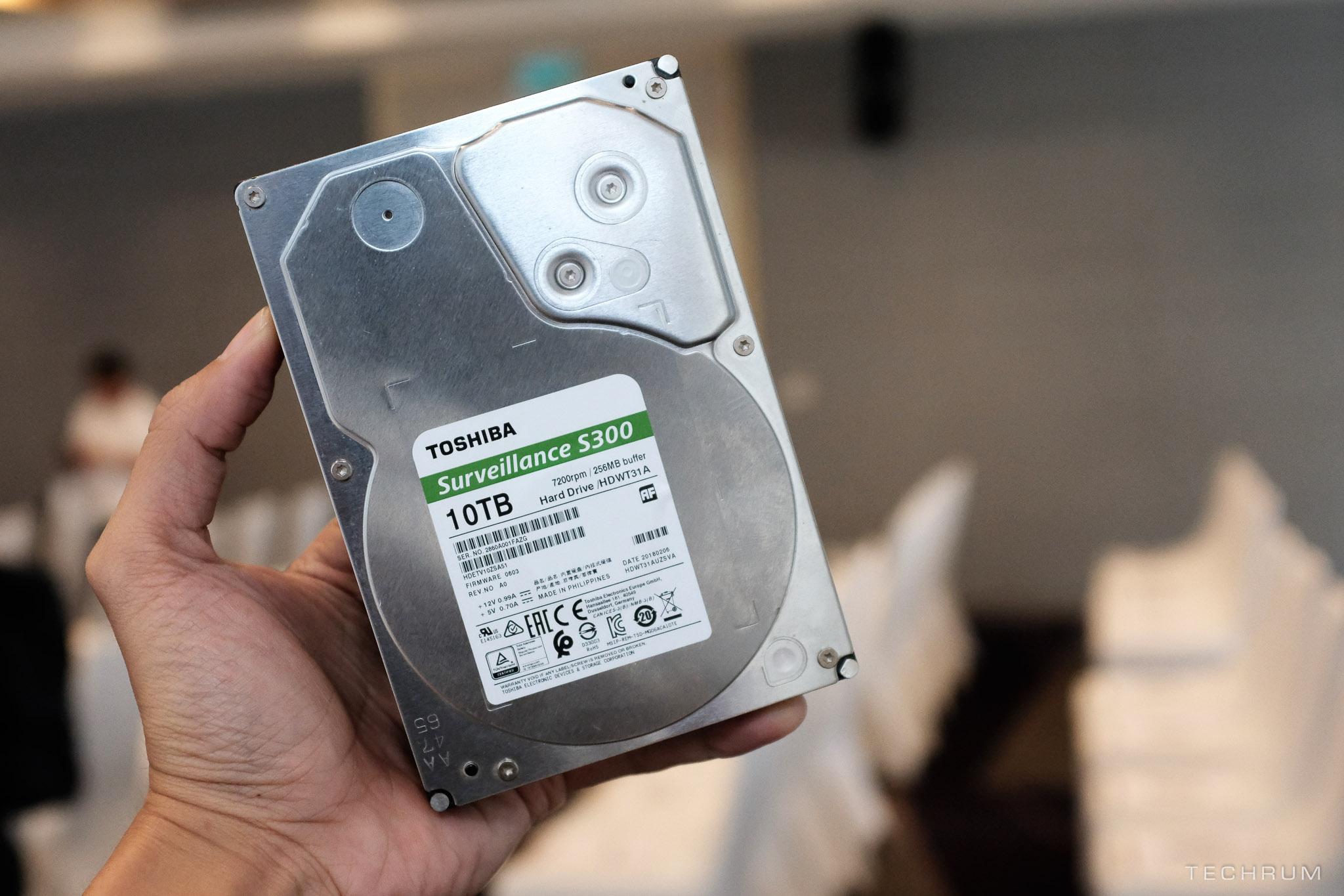 Toshiba ra mắt loạt ổ cứng HDD mới tại thị trường Việt Nam