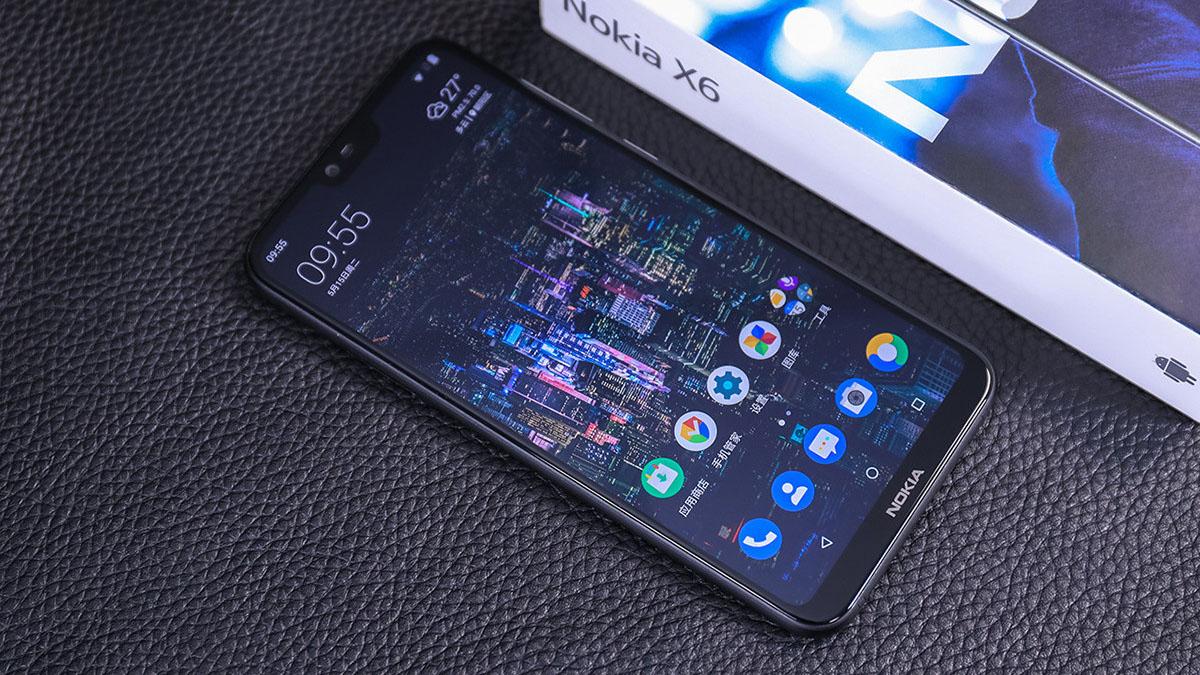 Cận cảnh Nokia X6: Smartphone màn hình tai thỏ, thiết kế hai mặt kính sang trọng, giá chỉ từ 4.6 triệu