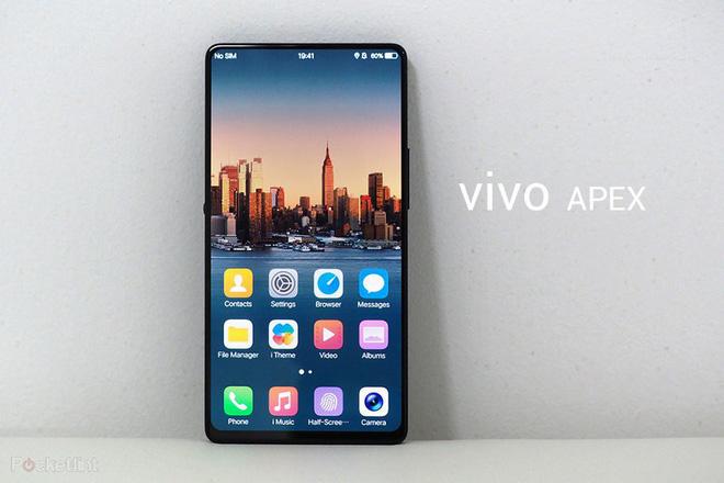 Rò rỉ ảnh smartphone không viền màn hình thực thụ của Vivo, cạnh cong hơn so với APEX