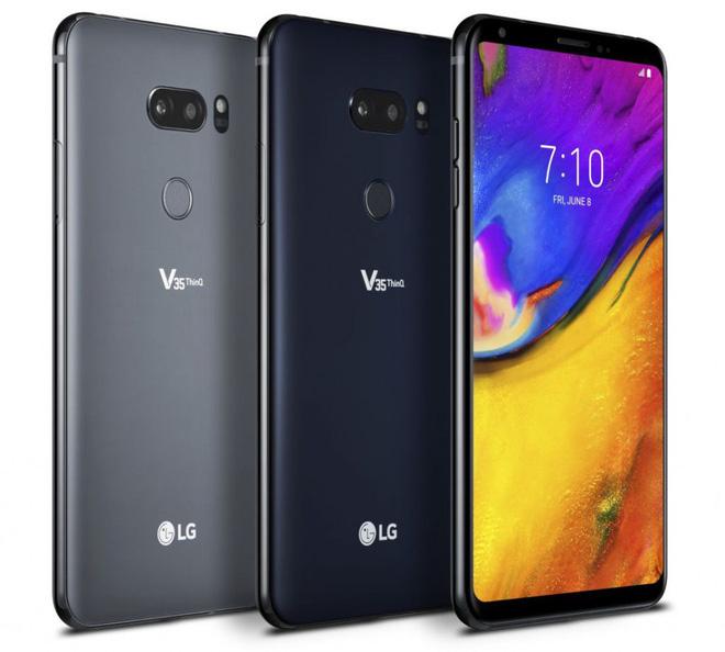 LG V35 ThinQ chính thức ra mắt, màn OLED 6 inch, Snapdragon 845, camera kép tích hợp AI, giá 900 USD