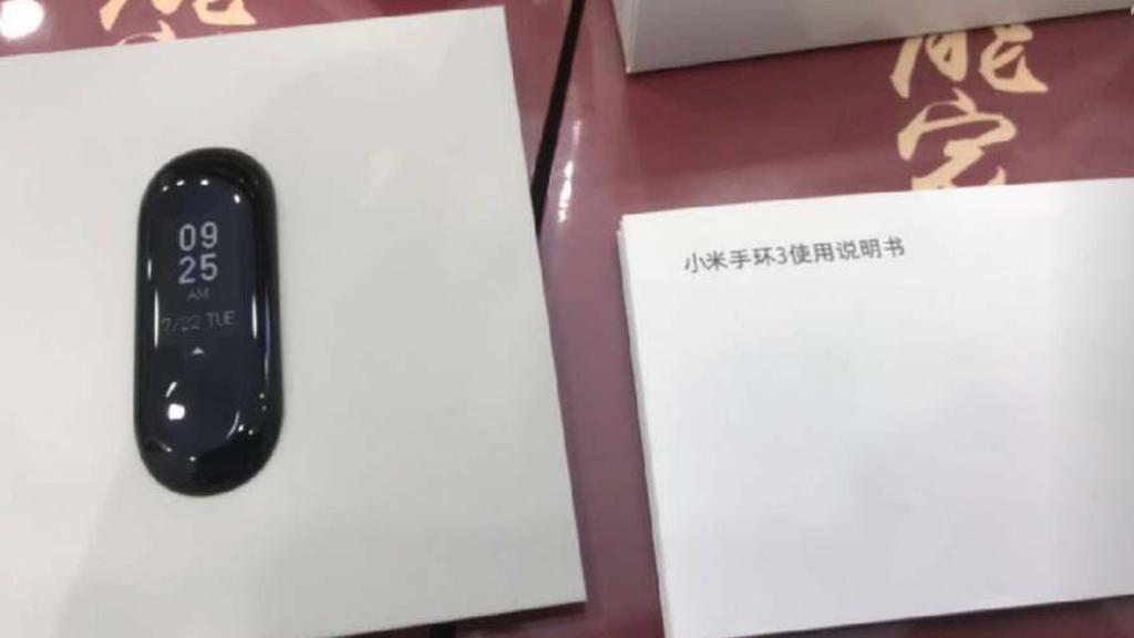 Xiaomi Mi Band 3 lộ toàn bộ thông số trước giờ ra mắt