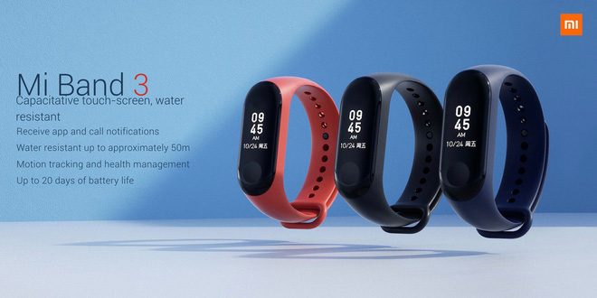 SmartBand, Xiaomi, Mi band, Mi Band 3,
